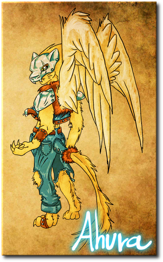 Art de Personajes Ahura (1) Color%2Bleo