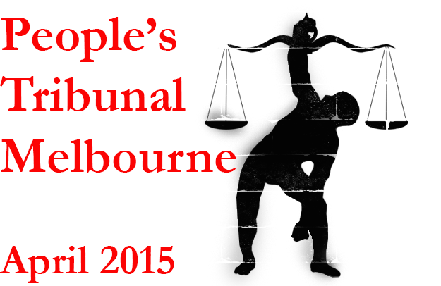 People's Tribunal Melbourne, April 2015