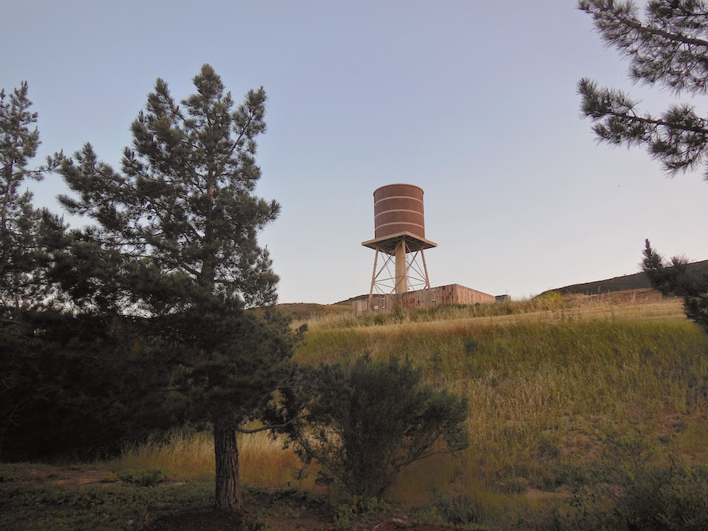Water Tower on Hill Above Home Depot, © B. Radisavljevic