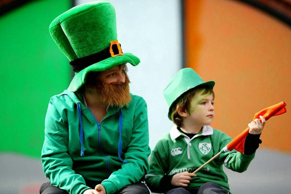 Frases De st-st patrick-saint patrick: Happy St Patick's Day Two Brothers