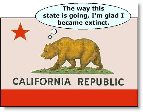 california flag bear extinct