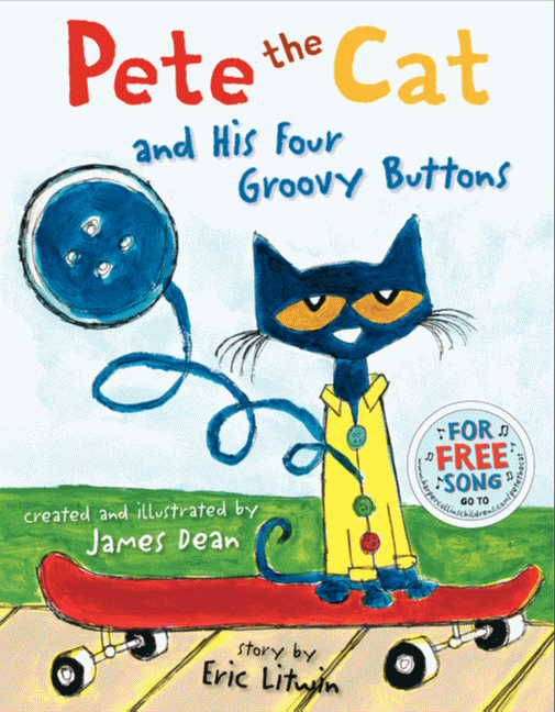 Pete The Cat Friendship Is Groovy