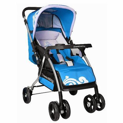 mẫu xe đẩy em bé mua nhiều trong tháng 12