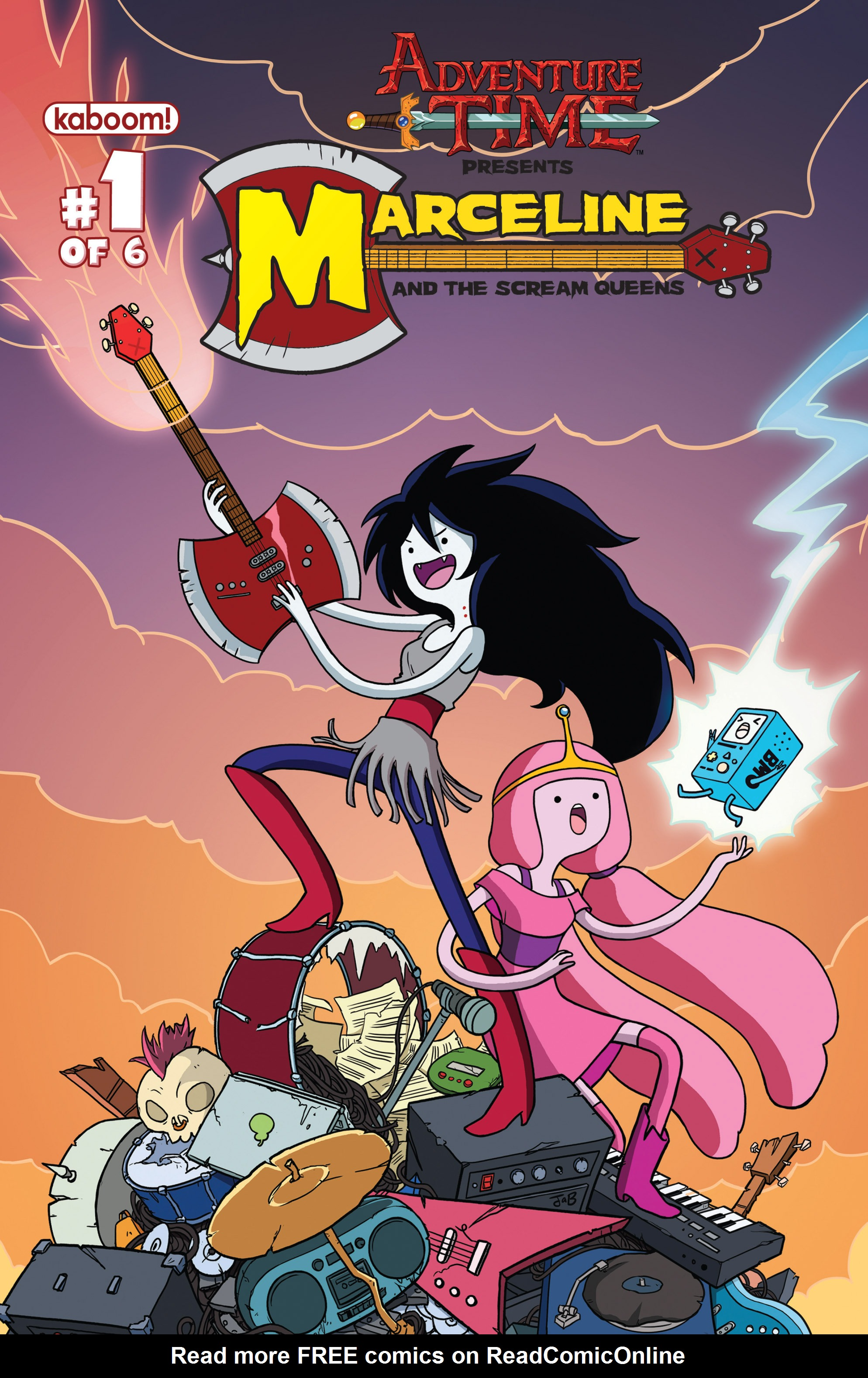 Adventure Time: Marceline and the Scream Queens 1 Page 1