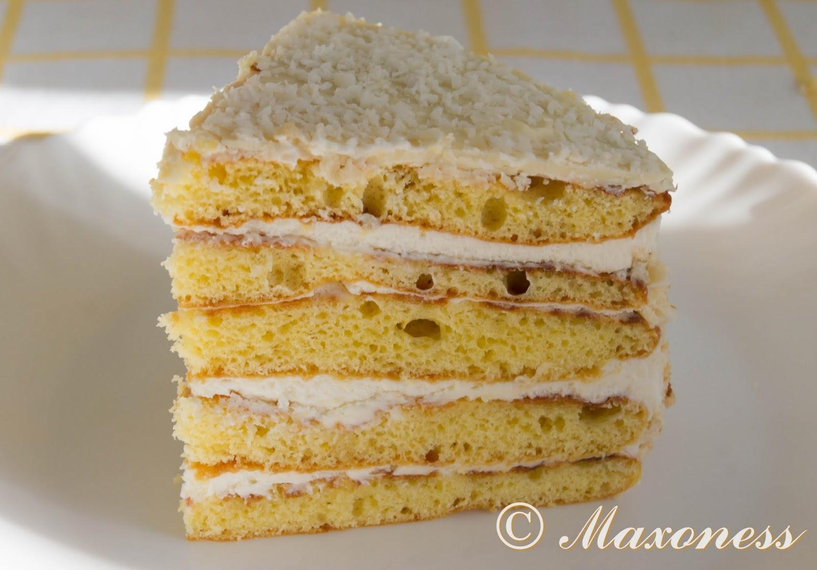 Торт «Молочная девочка». Немецкая кухня.