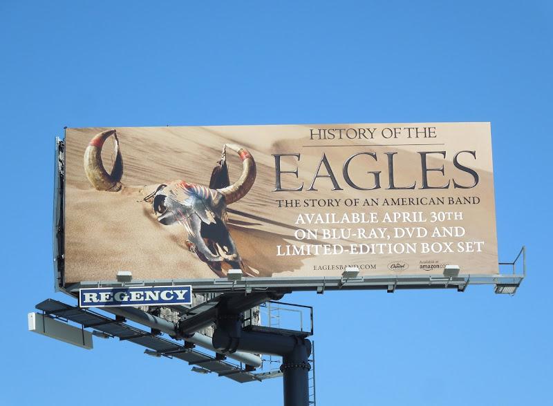 History of Eagles billboard