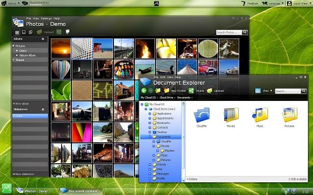 Cloudtop, aplikasi Sistem Operasi Online