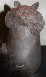 chat de jardin