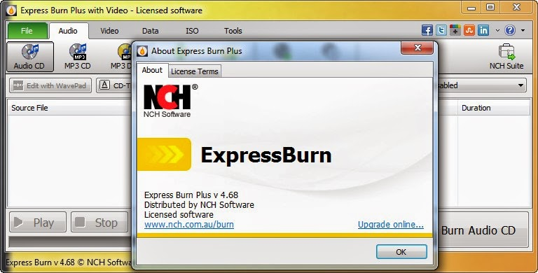 express burn registration code 2017