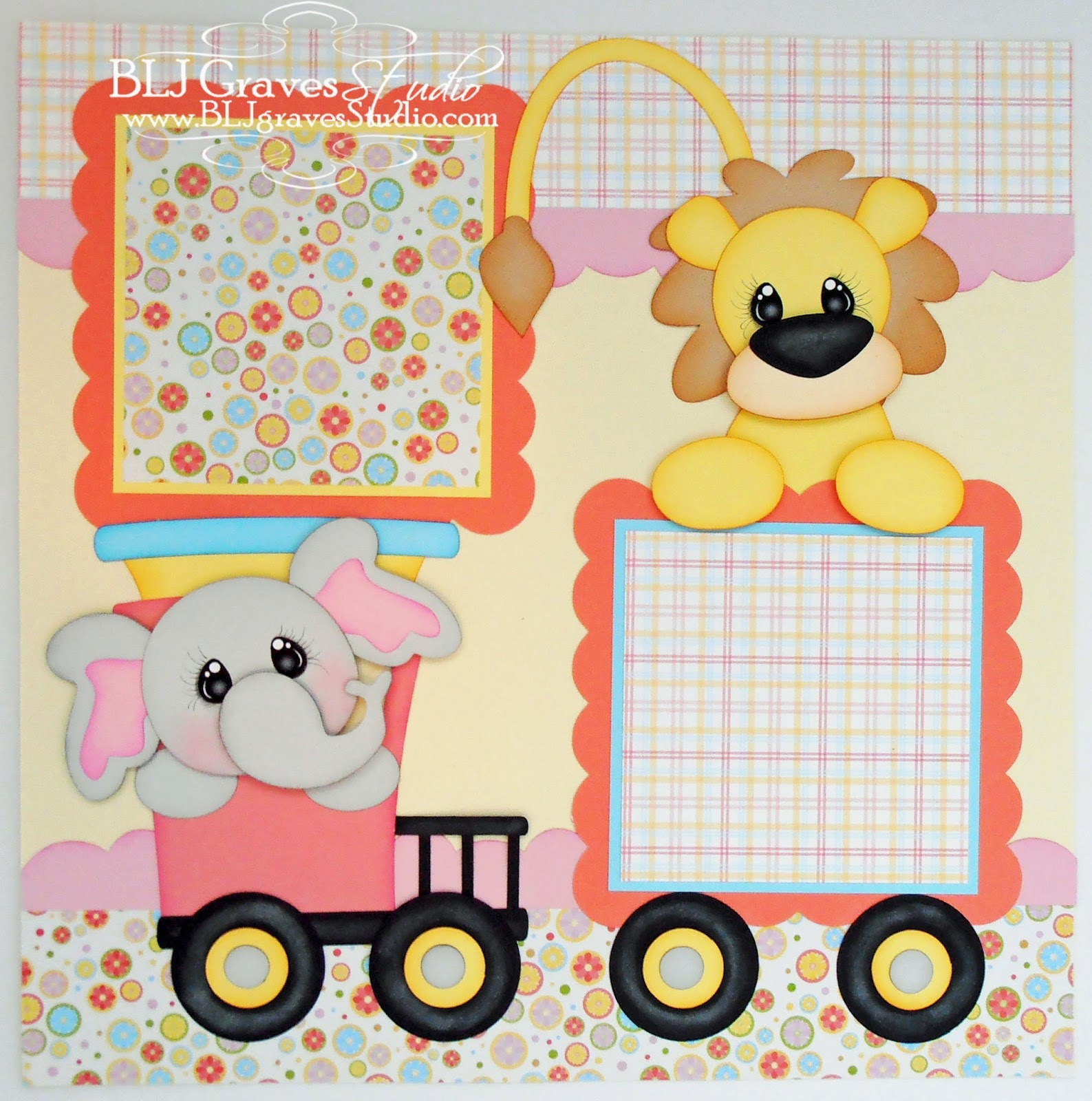 Scrapbook ideas for baby girl - Baby Girl Scrapbook Pages Cutting Files From Little Scraps Of Heaven Designs