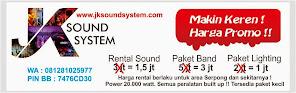 Rental Sound  Keren dan Murah