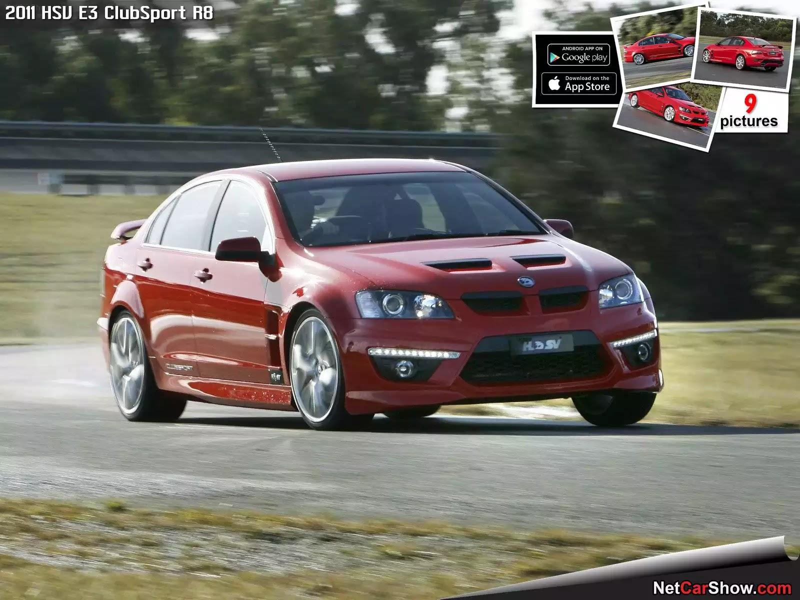 Hình ảnh xe ô tô HSV E3 ClubSport R8 2011 & nội ngoại thất