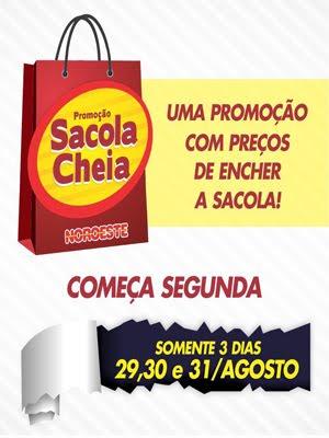 SACOLA CHEIA - NOROESTE
