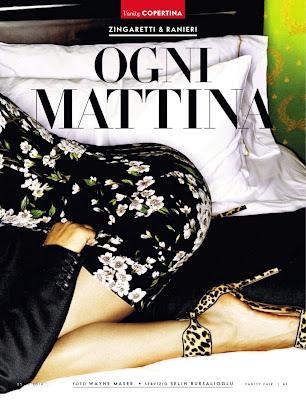Luisa Ranieri HQ Pictures Vanity Fair Italy Magzine Photoshoot February 2014