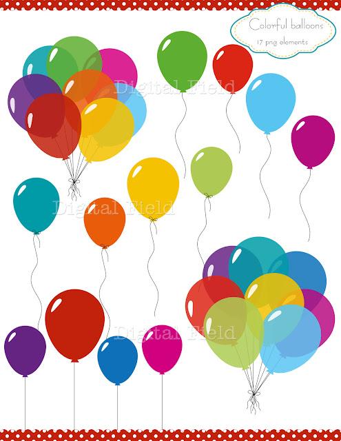 Balloon Clip Art3