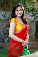 Aksha, in, Half, Saree, Latest, Hot, Pics