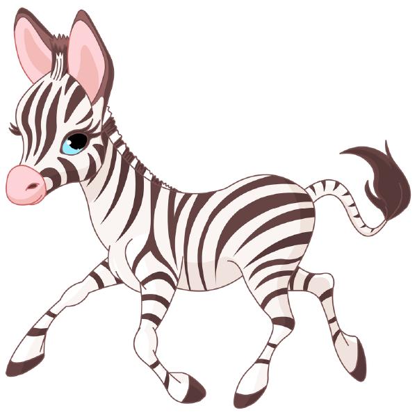 Prancing Zebra Icon