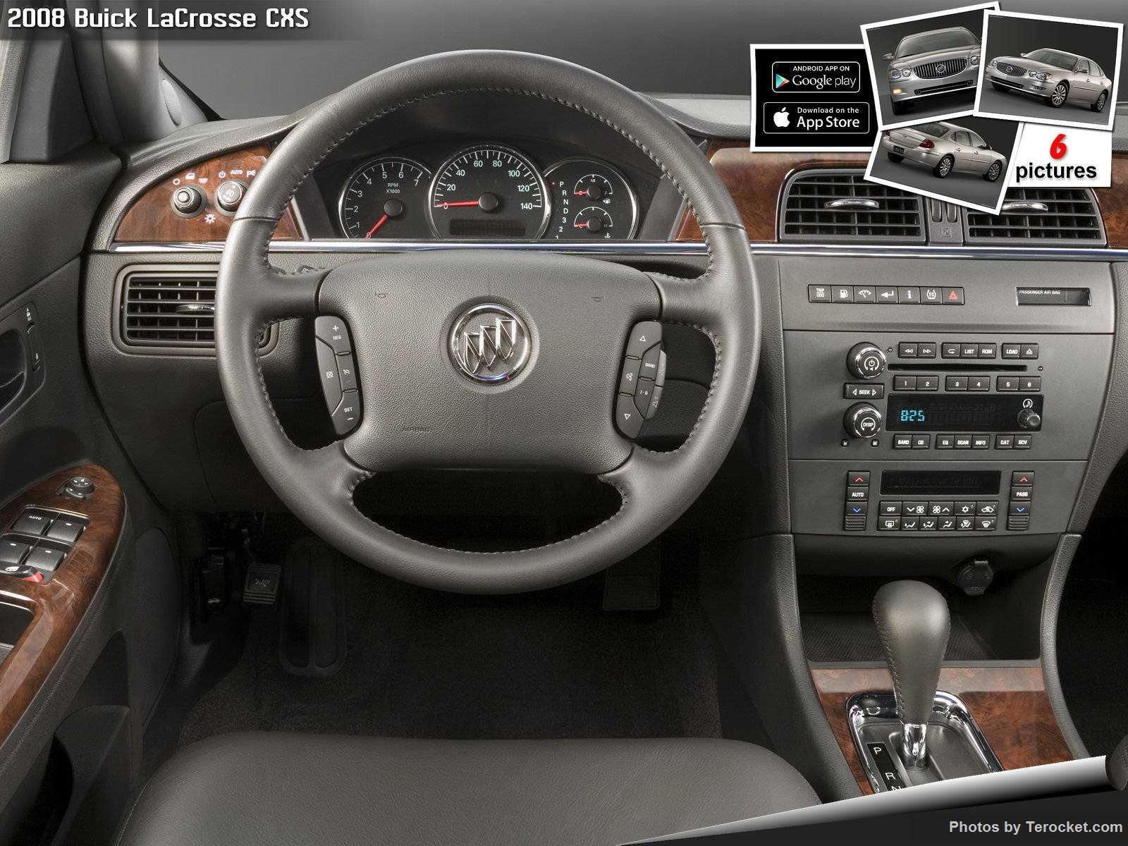 Hình ảnh xe ô tô Buick LaCrosse CXS 2008 & nội ngoại thất