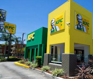 KFC Brisbane - Green & Gold