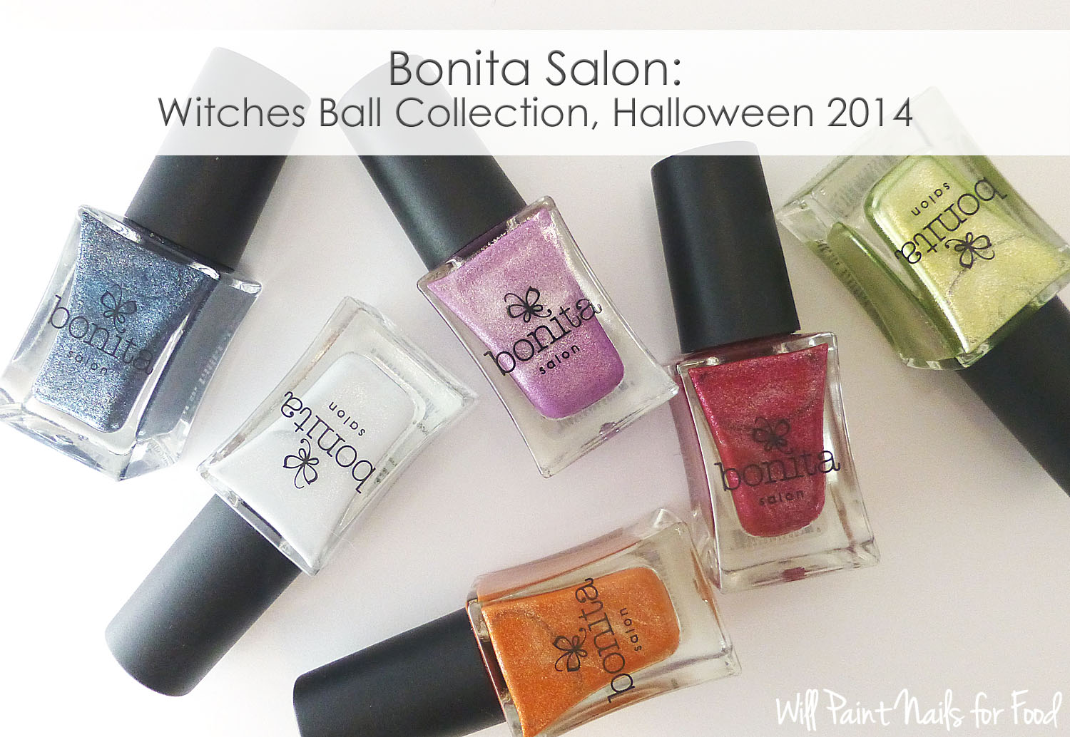 Bonita Salon Witches Ball Collection Halloween 2014