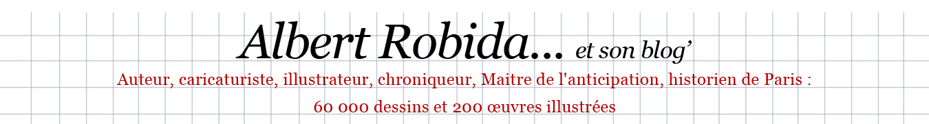 Albert Robida et son Blog'