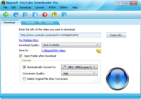 bigasoft youtube download free software latest version