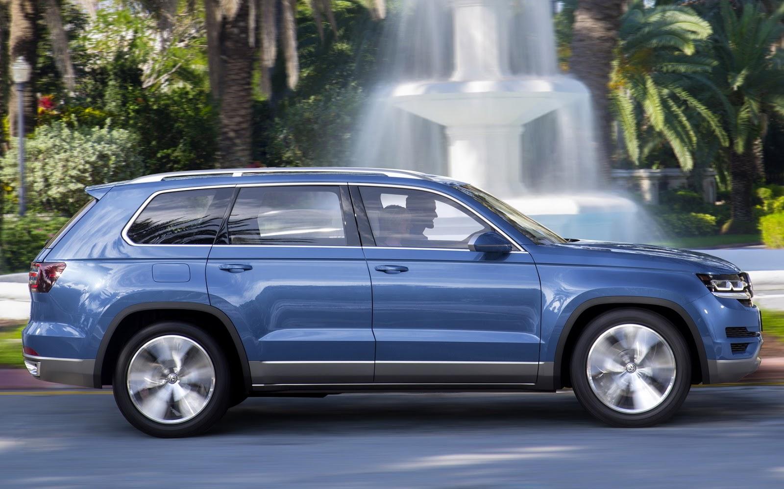 Volkswagen prepara ofensiva com 5 novos SUV até 2017 | CAR ...