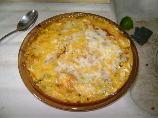 hot pizza dip from a dairy princess