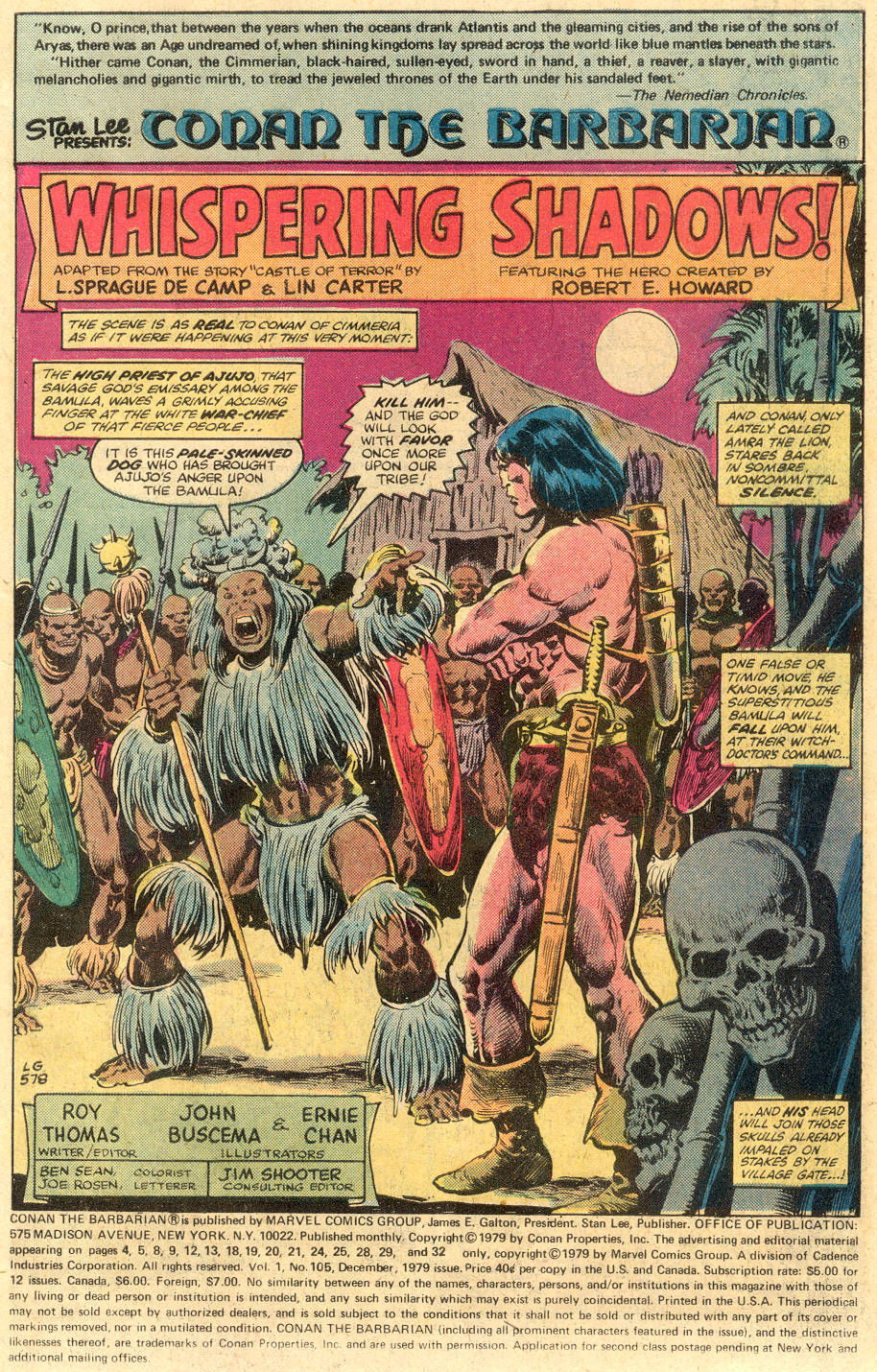 Conan the Barbarian (1970) Issue #105 #117 - English 2