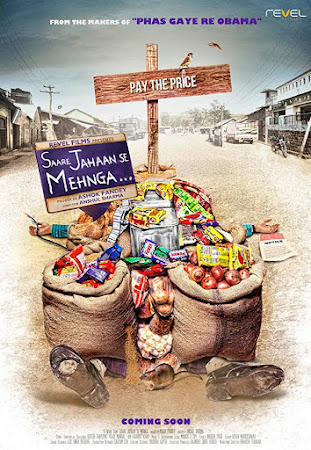 Poster Of Hindi Movie Saare Jahaan Se Mehnga... 2013 Full HD Movie Free Download 720P Watch Online