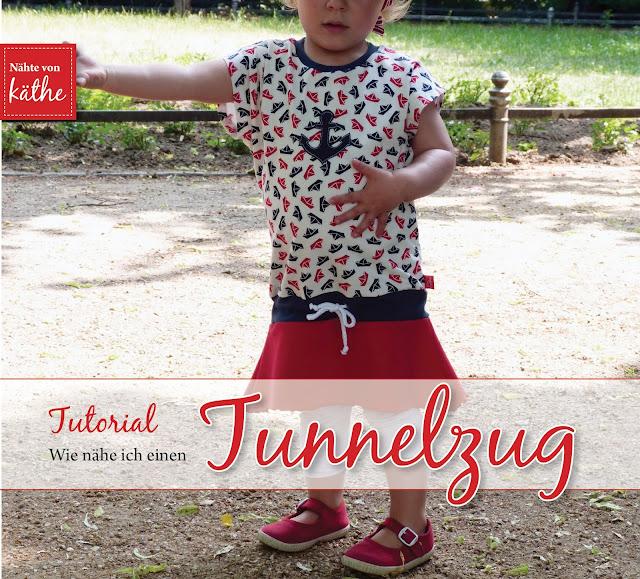 Simply Summer von Schaumzucker als Kleid mit Tunnelzug - Tutorial
