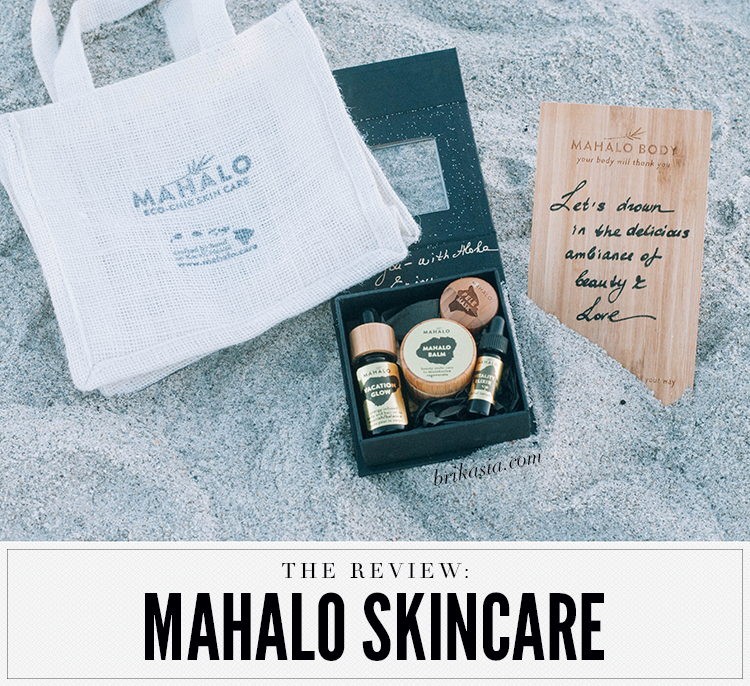 mahalo skin review, best green beauty brands, green beauty skincare, organic skincare for acne, mahalo balm, pele mask, vacation glow, vitality elixir, a night for green beauty