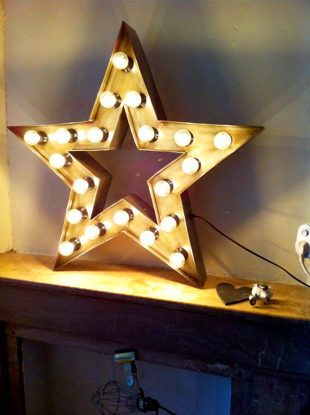 Got this beautiful new star lamp from Sissy Boy Homeland! | &stijl