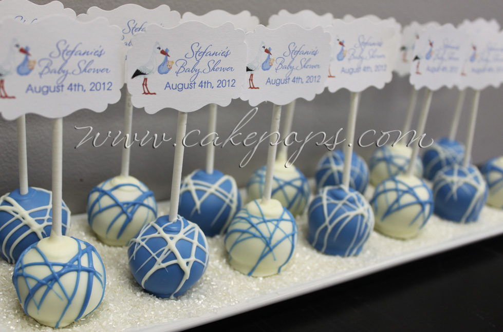 Baby Shower Cake Pops Thank You Gifts