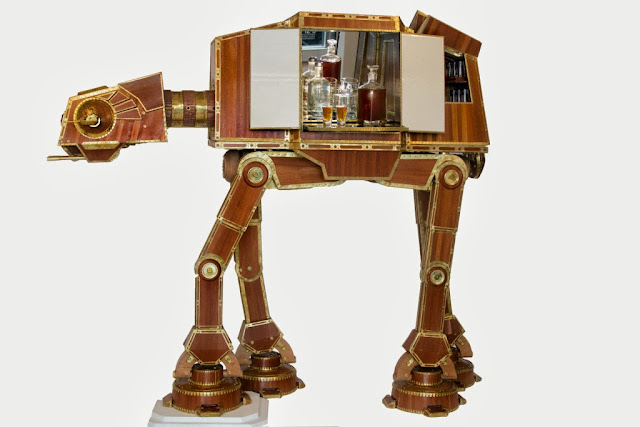 MiniBar Steampunk AT-AT