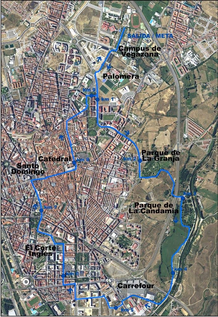 recorrido 10 km ULE
