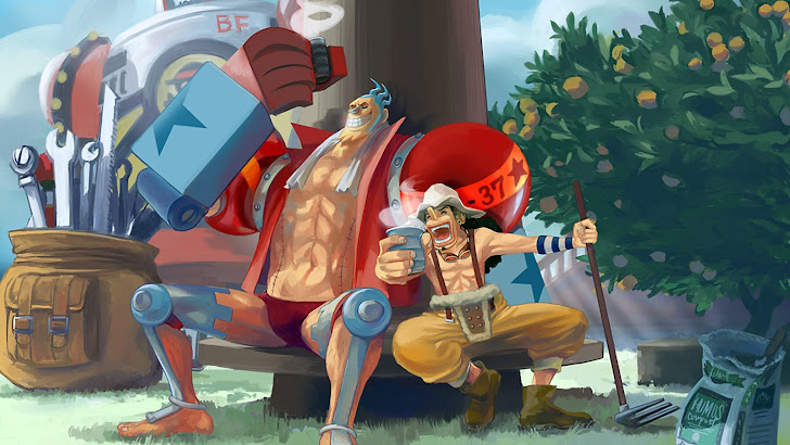 Usopp Franky One Piece