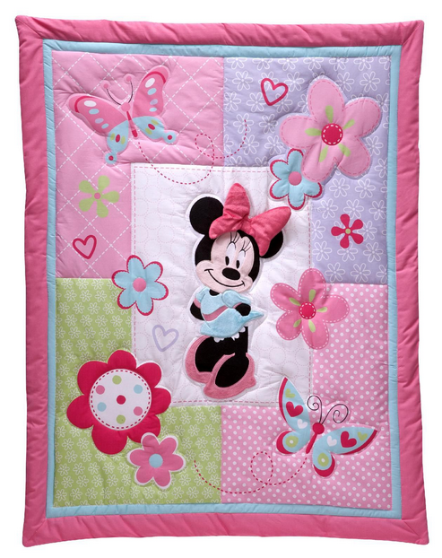 Minnie Mouse Crochet Baby Blanket Pattern : Stitches: Crochet Minnie Mouse Blanket