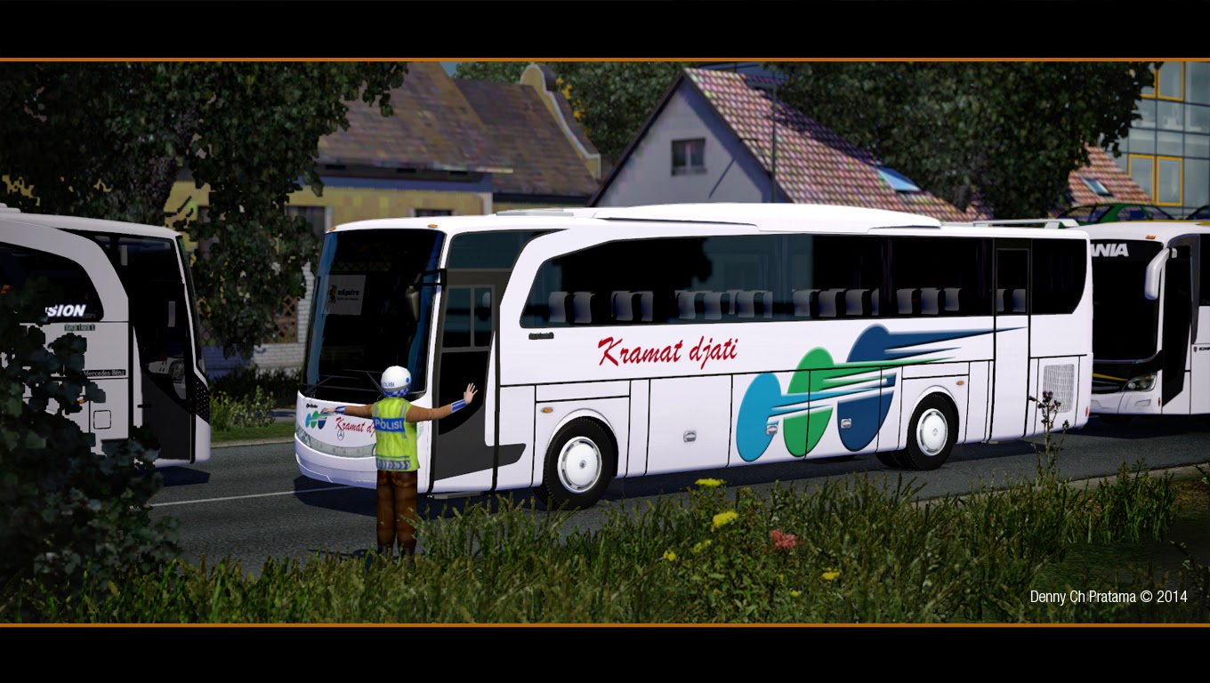 Ets 2 mod new travego map izi denny ch pratama for Mercedes benz dealers tampa bay area