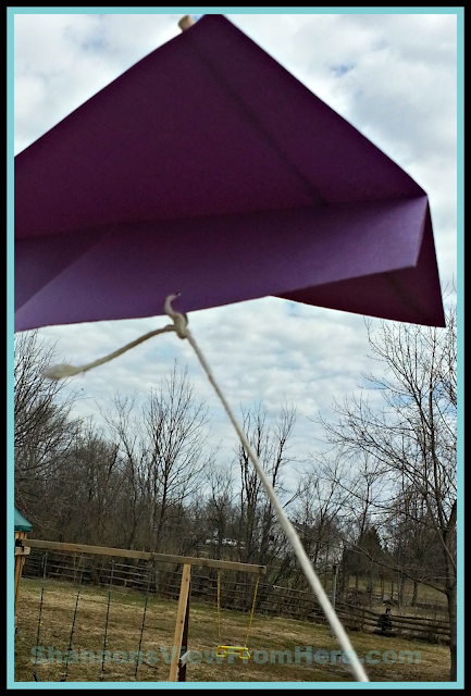 Make Paper Kite