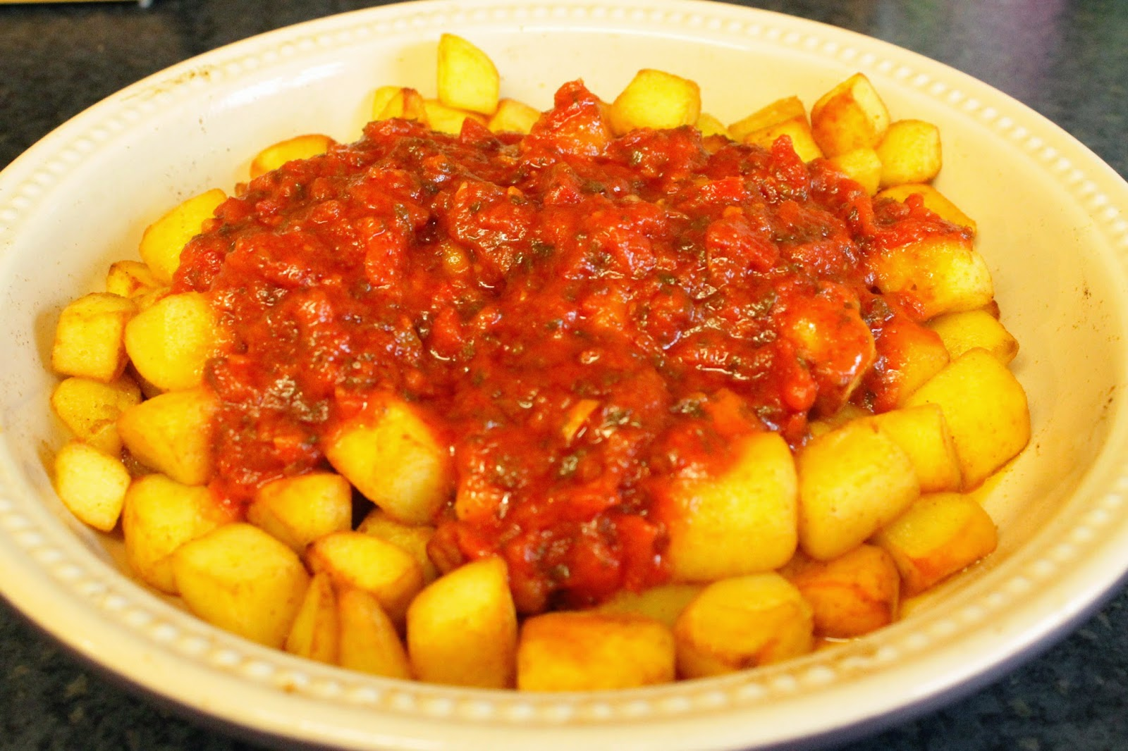 Cheats patatas bravas