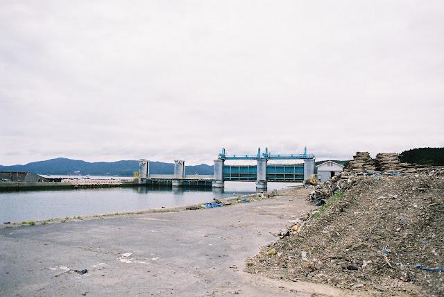 half shut water gates