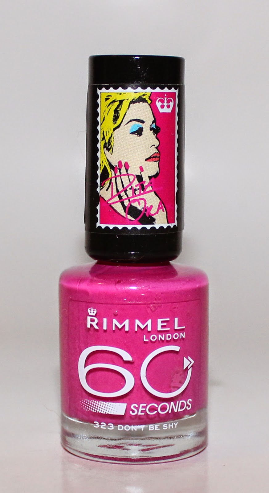 Rimmel London x Rita Ora 60 Seconds Nail Polish in Don't Be Shy