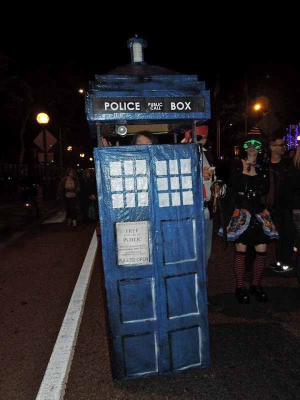 West Hollywood Halloween Carnaval TARDIS