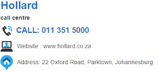 Hollard Customer Service Number South Africa