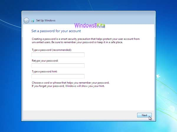Panduan Cara Instal Windows 7 step 22