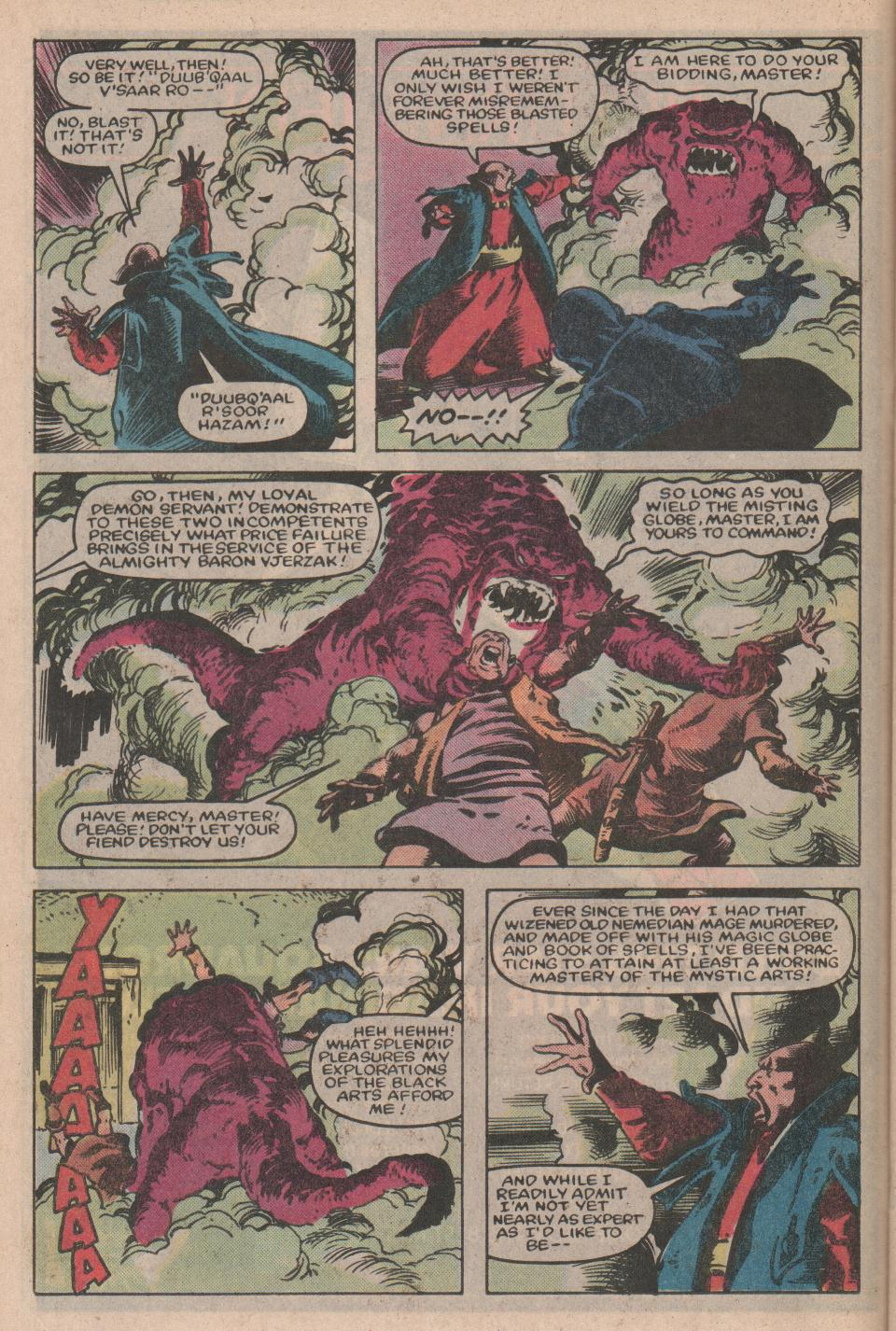 Conan the Barbarian (1970) Issue #155 #167 - English 11