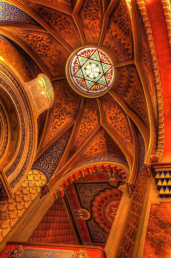 Jubilee Synagogue,Czech Republic: