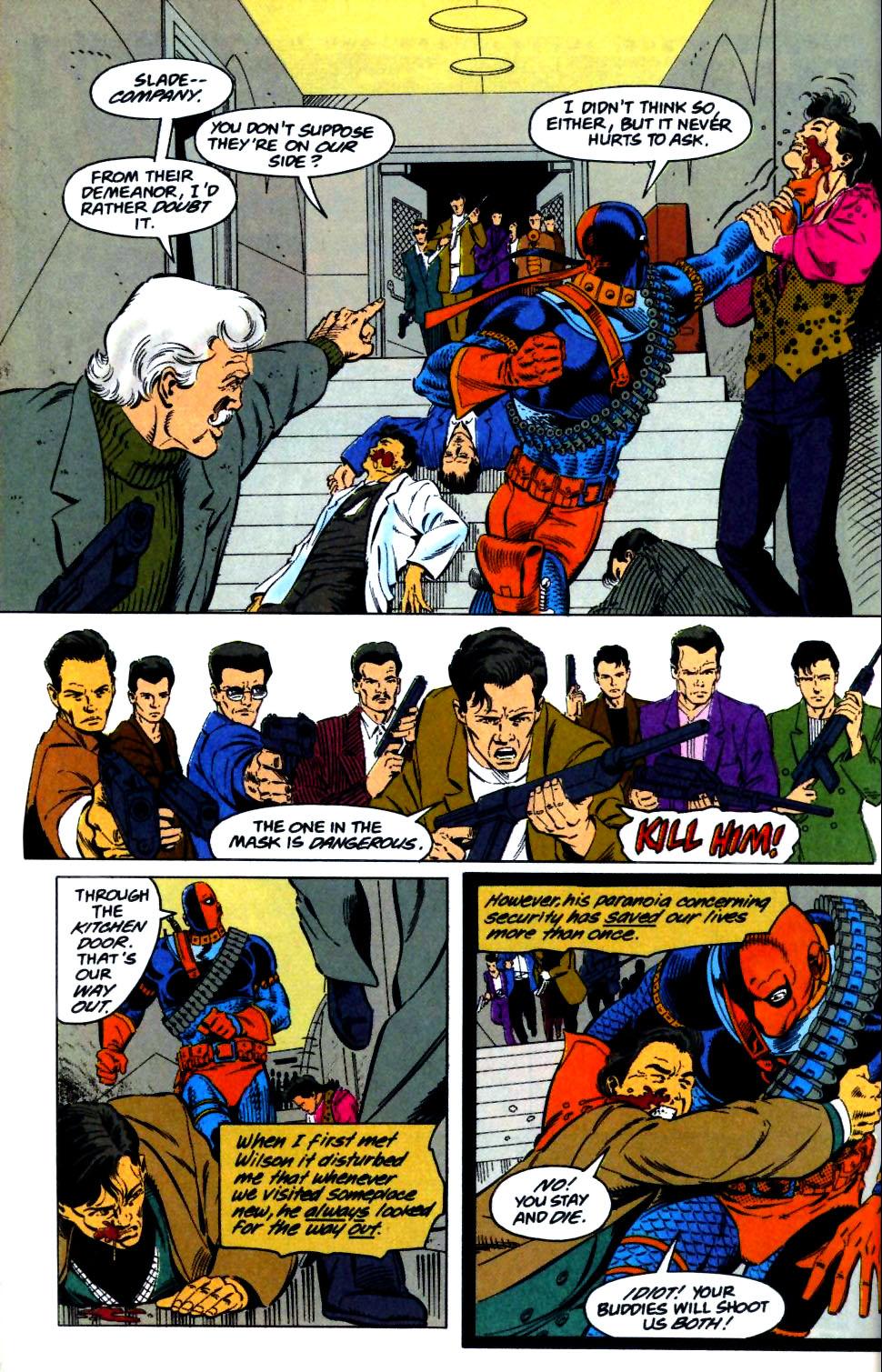 Deathstroke (1991) Issue #29 #34 - English 8