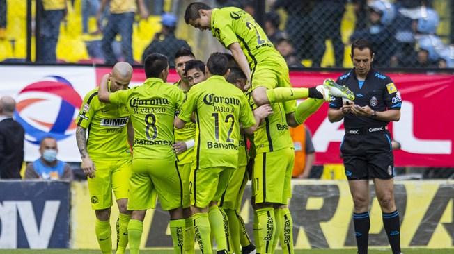 América vs. León, en la jornada 1 del torneo Clausura 2015 del futbol mexicano Liga MX | Ximinia